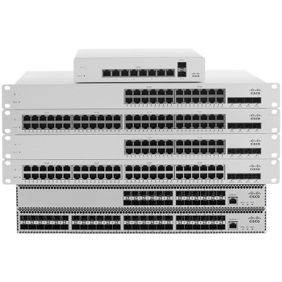 Cisco Meraki switch cloud controlled